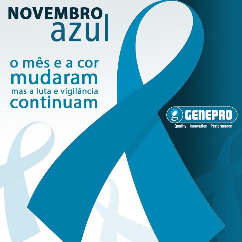 Novembro Azul - Genepro